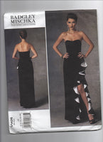Vogue v1426 Vogue American Designer Badgley Mishka evening dress pattern