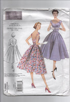 Vogue v2960 reissued vintage 1954 sewing pattern