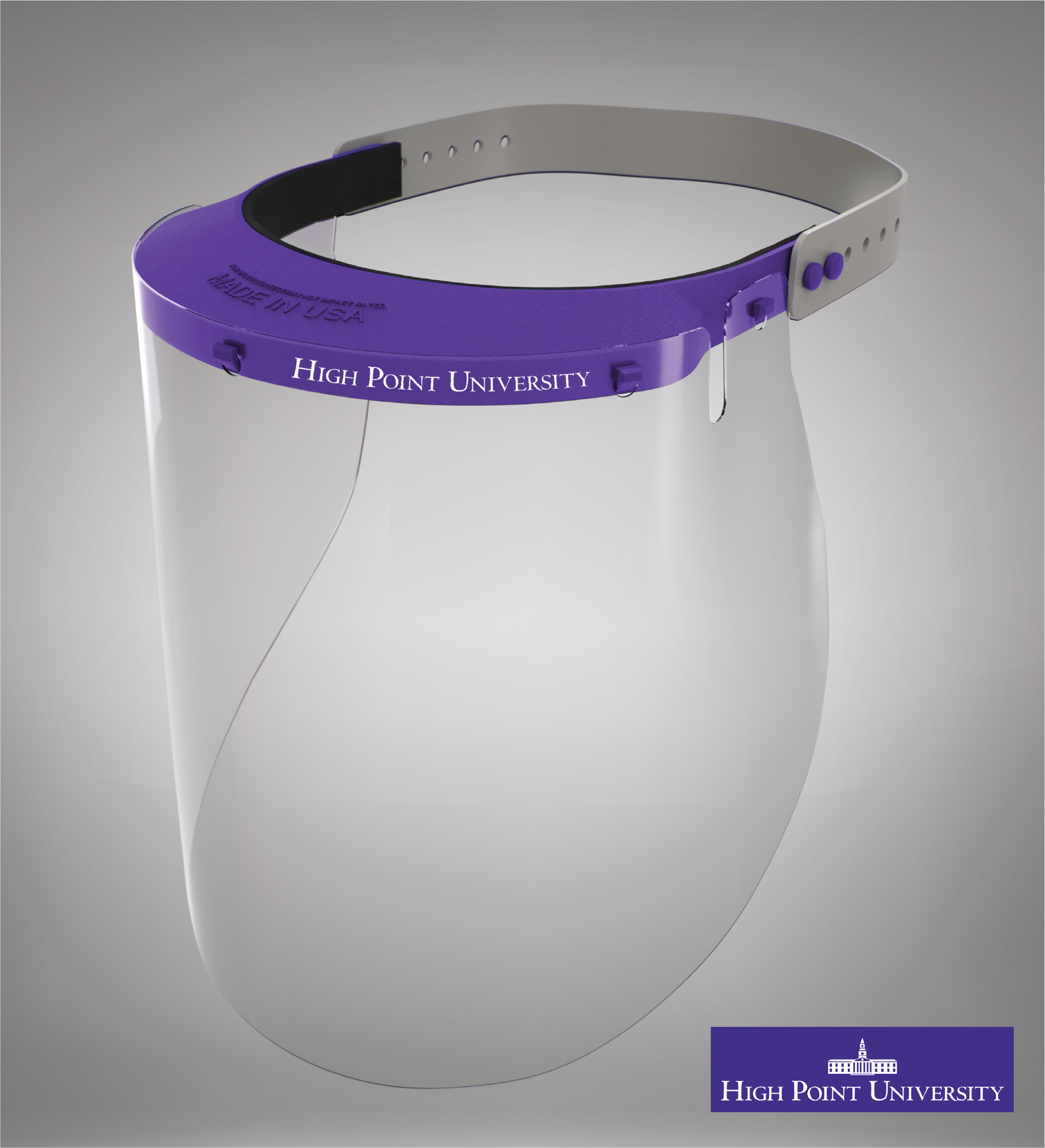 Hight Point University Face Shield