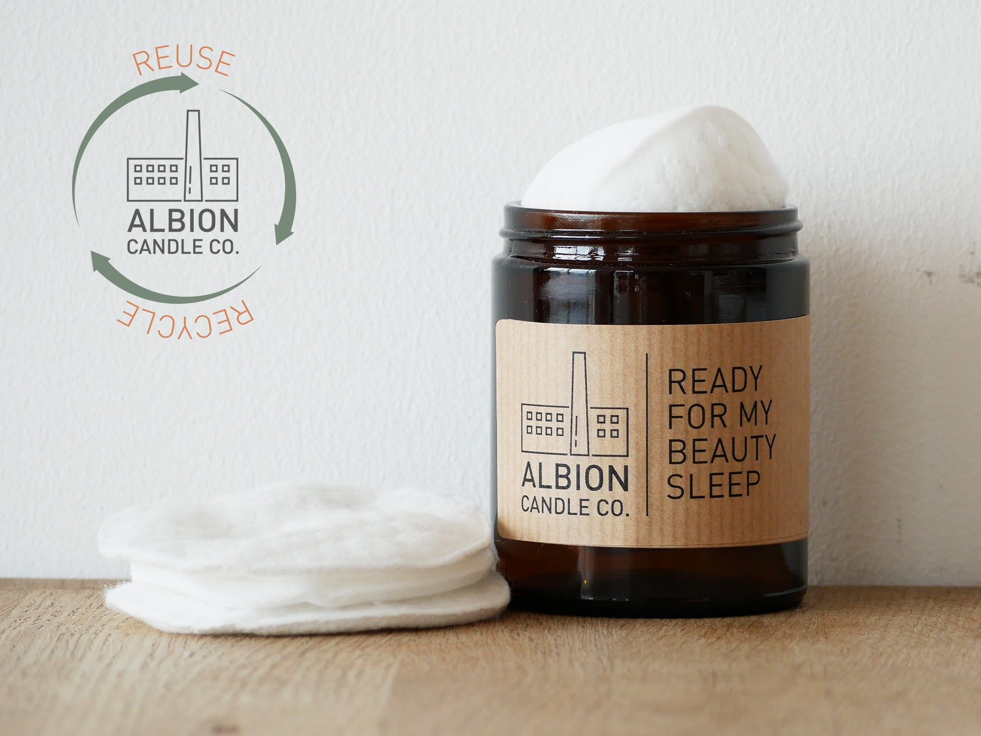 'READY FOR MY BEAUTY SLEEP' LABEL