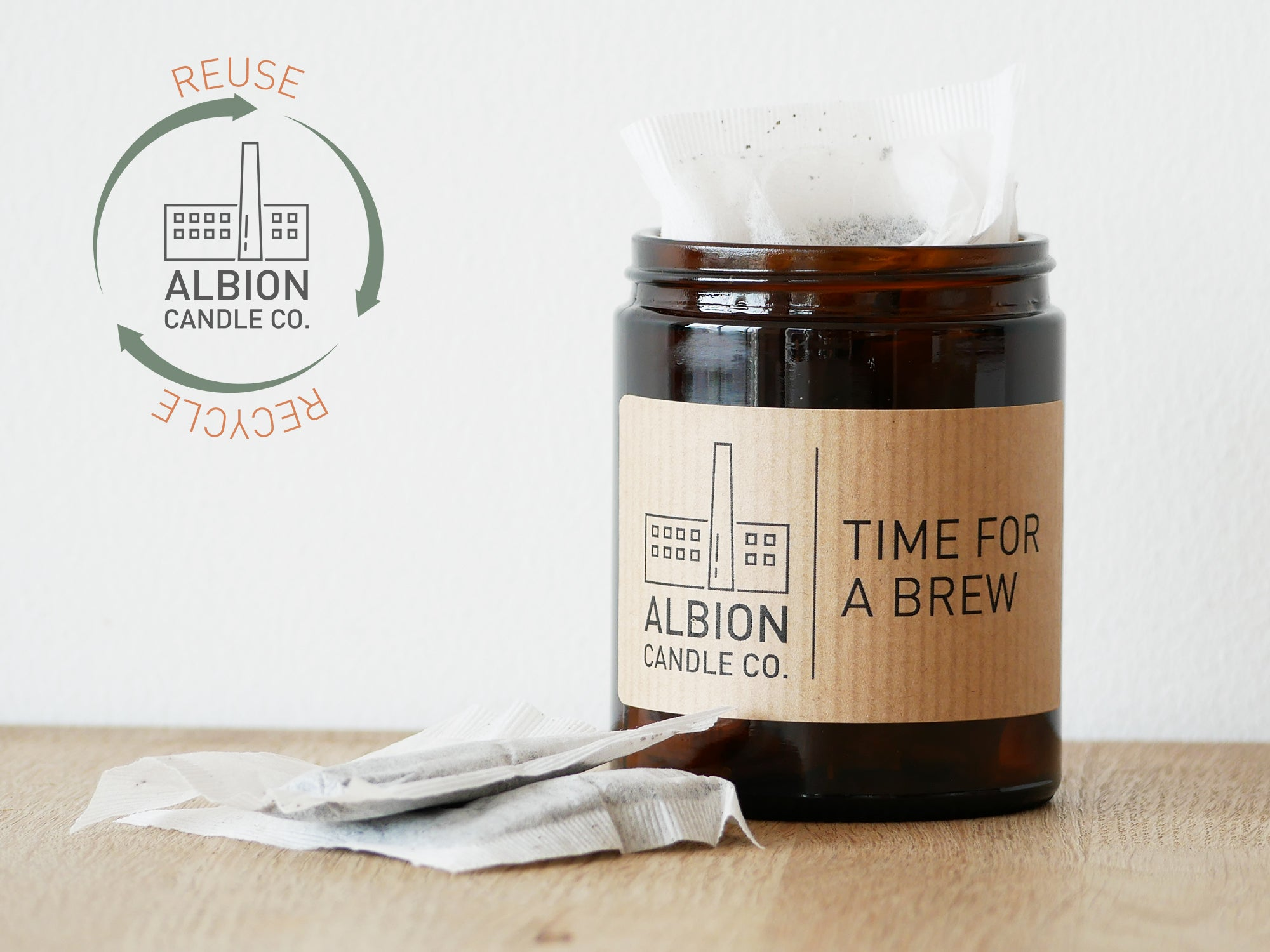 'TIME FOR A BREW' LABEL