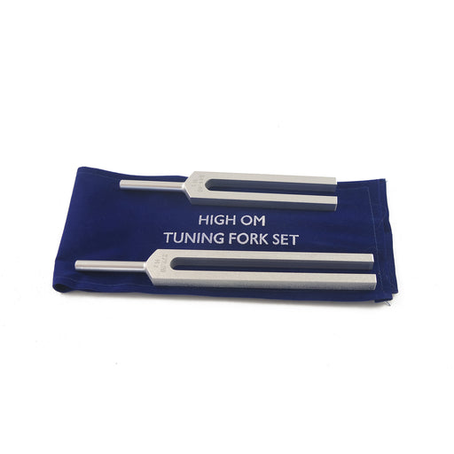 High OM unweighted tuning forks (set of 2)