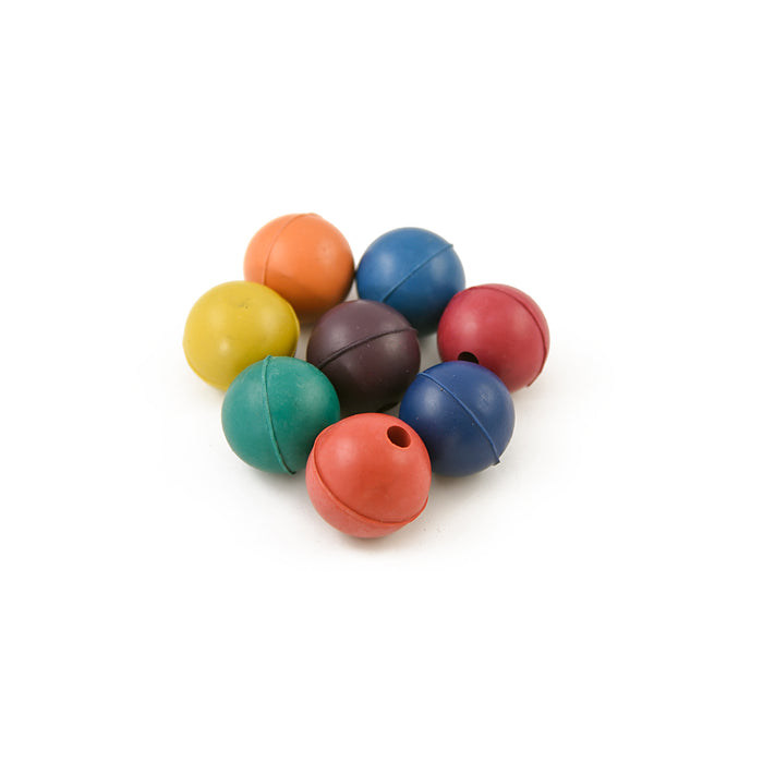 Rubber balls for tuning forks – set of 8