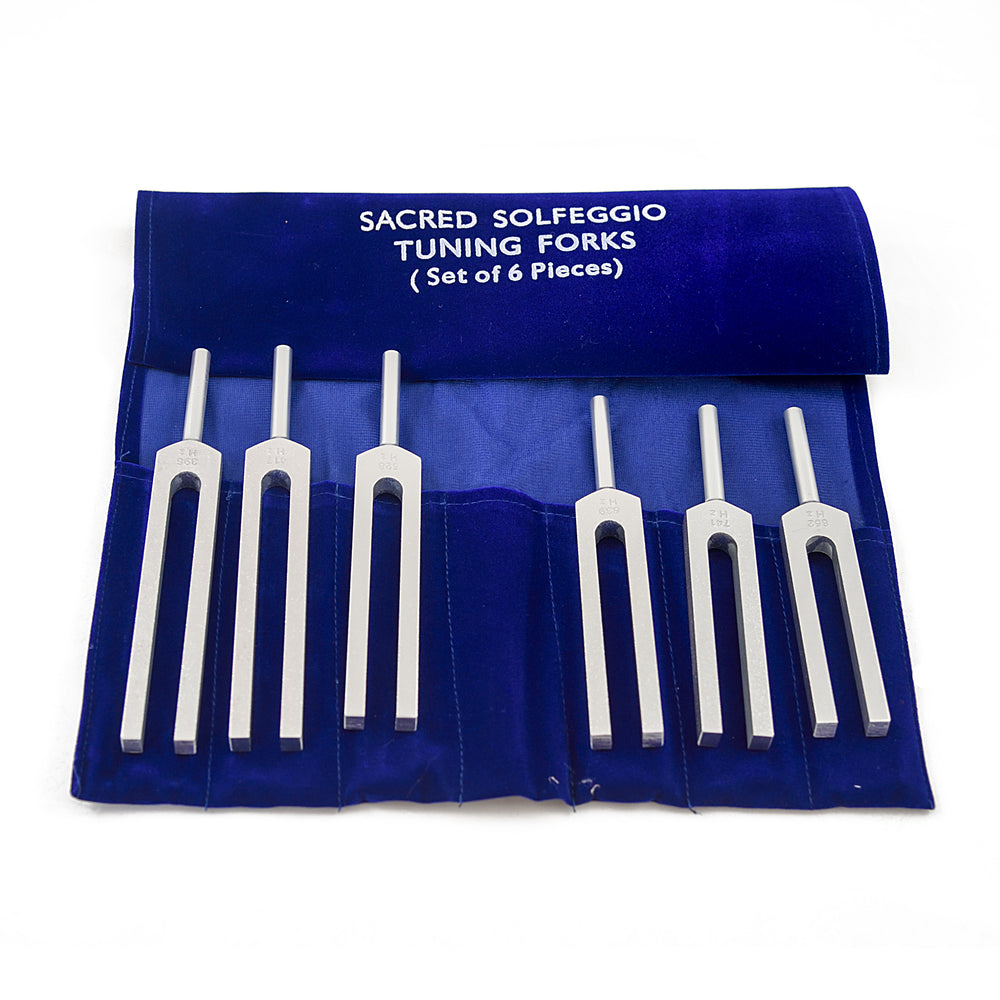Solfeggio tuning forks – set of 6
