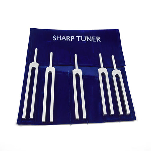 Sharp set of 5 tuning forks