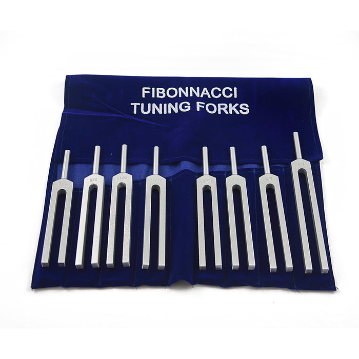 Fibonacci tuning forks – set of 8