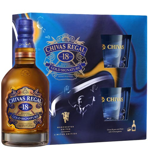 Chivas Regal 18 Years Giftset