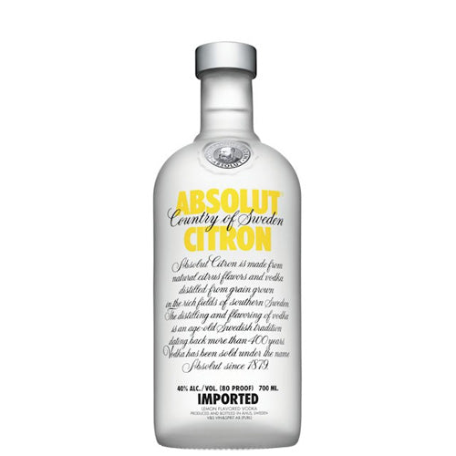 Absolut citron Vodka 70cl Djambo Slijterij