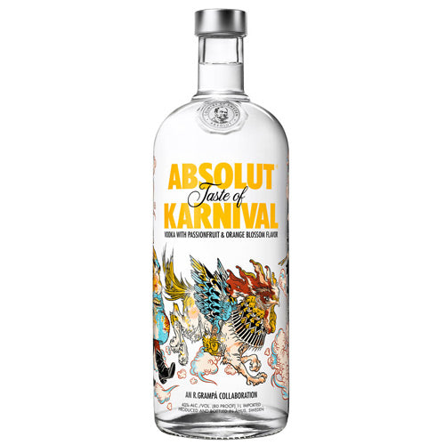 Absolut Karnival Edition Vodka Djambo Slijterij