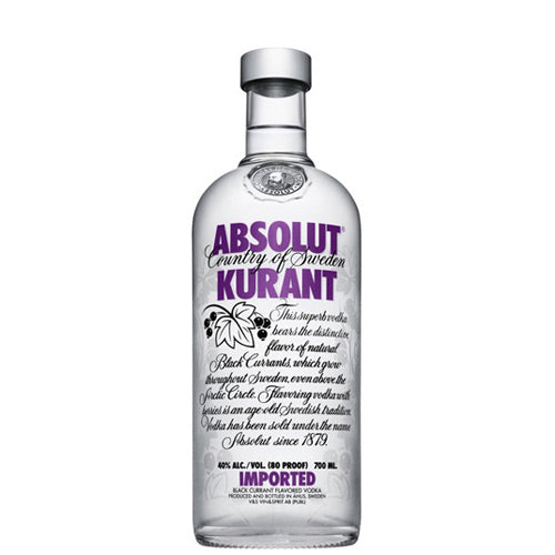 Absolut Kurant Vodka 70cl Djambo Slijterij