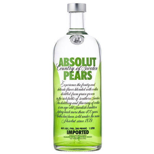 Absolut Pears Vodka 1L Djambo Slijterij