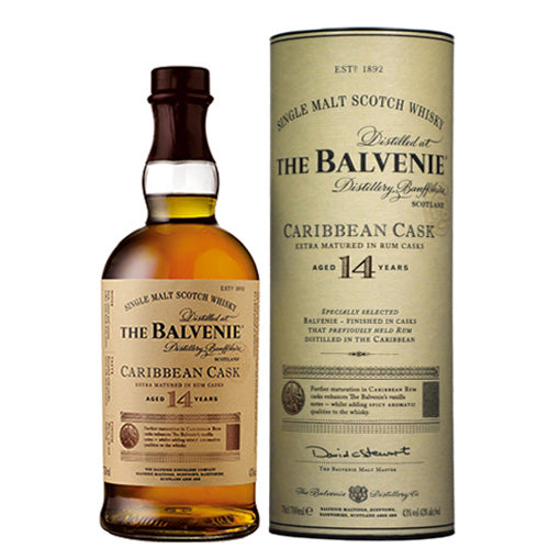 The Balvenie Caribbean Cask 14 Years 700 ml