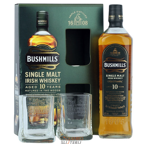Bushmills 10 Year Old Gift Pack
