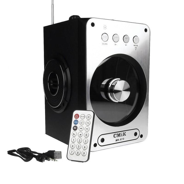 BOXA BLUETOOTH PORTABILA KARAOKE RADIO FM, TF, MP3, USB - pedavo
