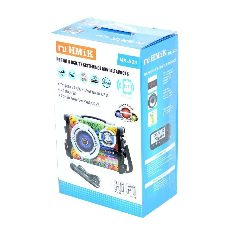 BOXA CU BLUETOOTH,USB,CARD SD , RADIO FM