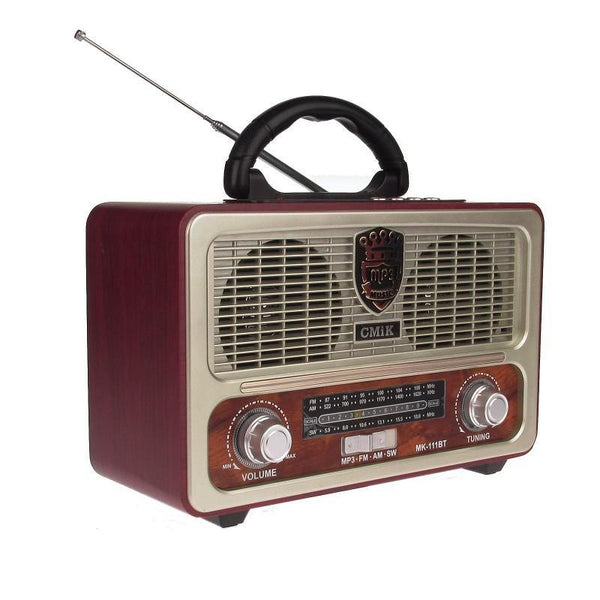 RADIO MODEL RETRO MP3 PLAYER PORTABIL - pedavo