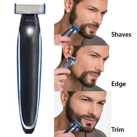 Trimmer facial cu 3 capete, Micro Touch Solo