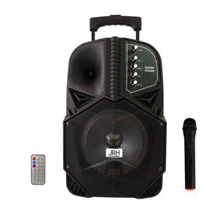 Boxa portabila karaoke , 1000 W cu microfon, Micro SD card, AUX in, USB bluetooth , display digital