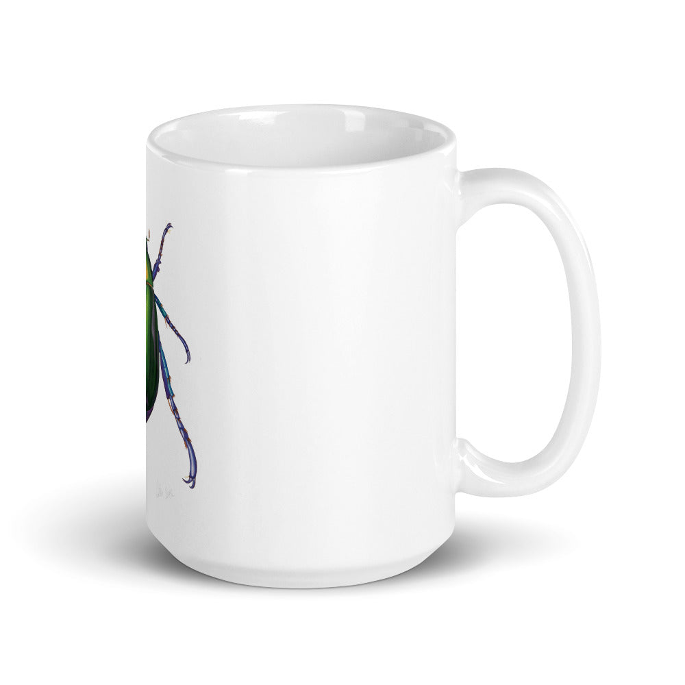Jewel Scarab Beetle Mug