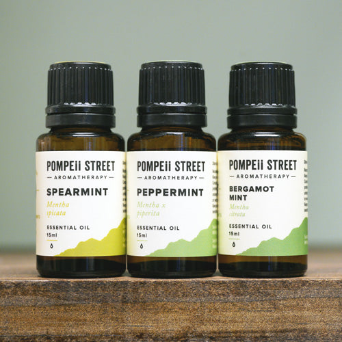 Mint Essential Oil Set