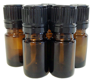 5 ml Amber Bottle with built-in dropper