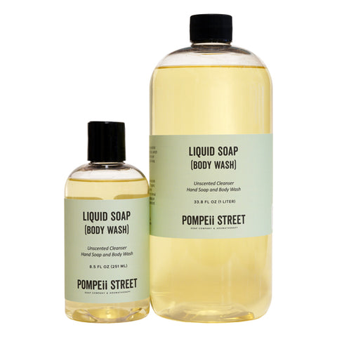 Unscented Liquid Soap (Body Wash)