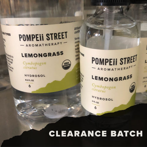 Lemongrass Hydrosol (Clearance)