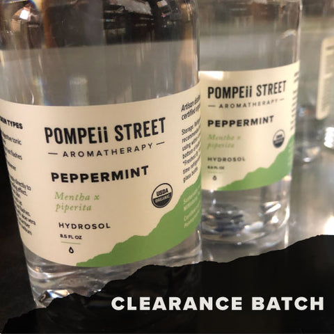 Peppermint Hydrosol (Clearance)