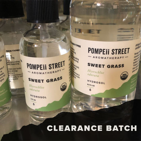 Sweet Grass Hydrosol (Clearance)