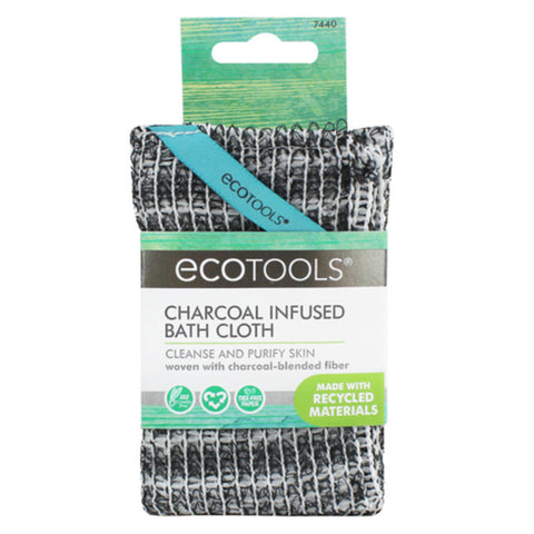 Ecotools® Charcoal Infused Bath Cloth