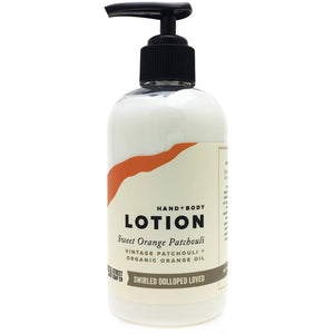Sweet Orange Patchouli Lotion