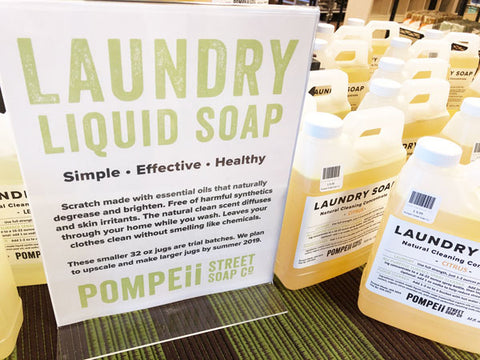 Lemon Natural Laundry Soap