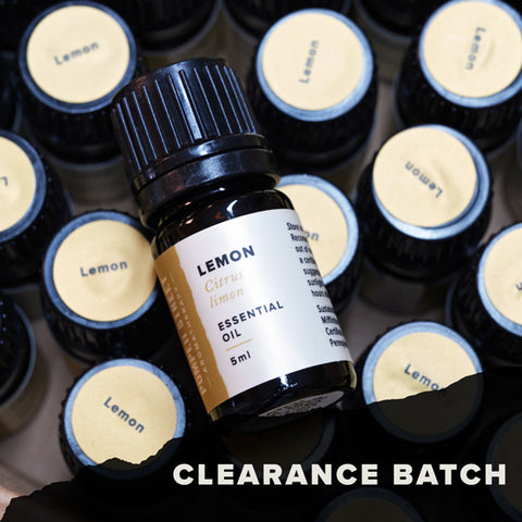 Lemon Essential Oil (Clearance Batch)
