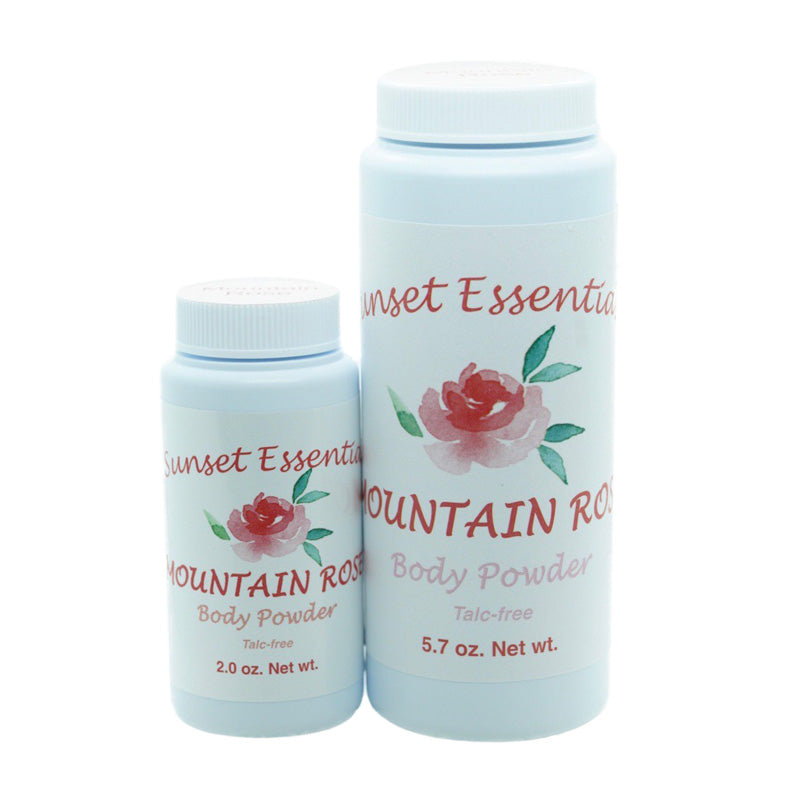 Mountain Rose Body Powder