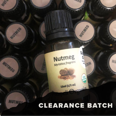 Nutmeg Essential Oil (DISCONTINUED)
