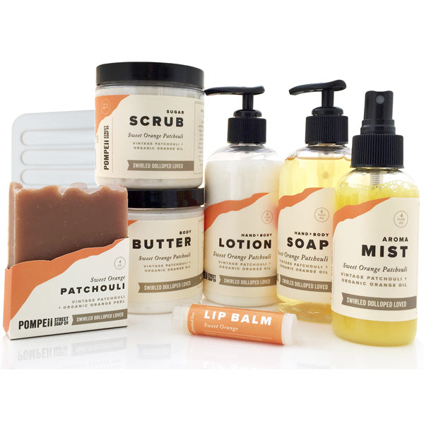Sweet Orange Patchouli Gift Set (Deluxe)