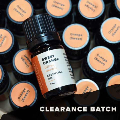 Orange (Sweet) Essential Oil (Clearance Batch)
