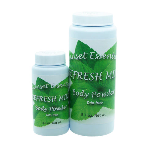 Refresh Mint Body Powder