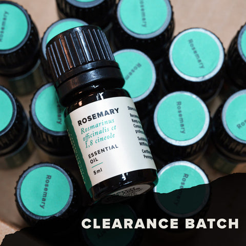 Rosemary Essential Oil (Clearance Batch)