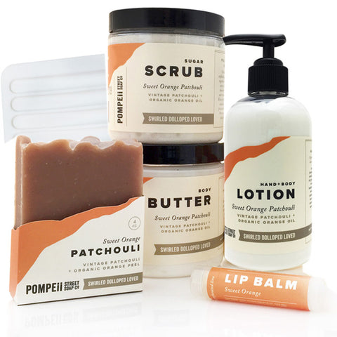 Sweet Orange Patchouli Gift Set
