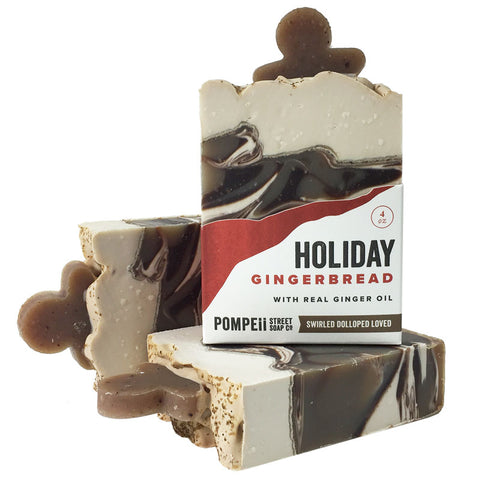 Holiday Gingerbread Soap