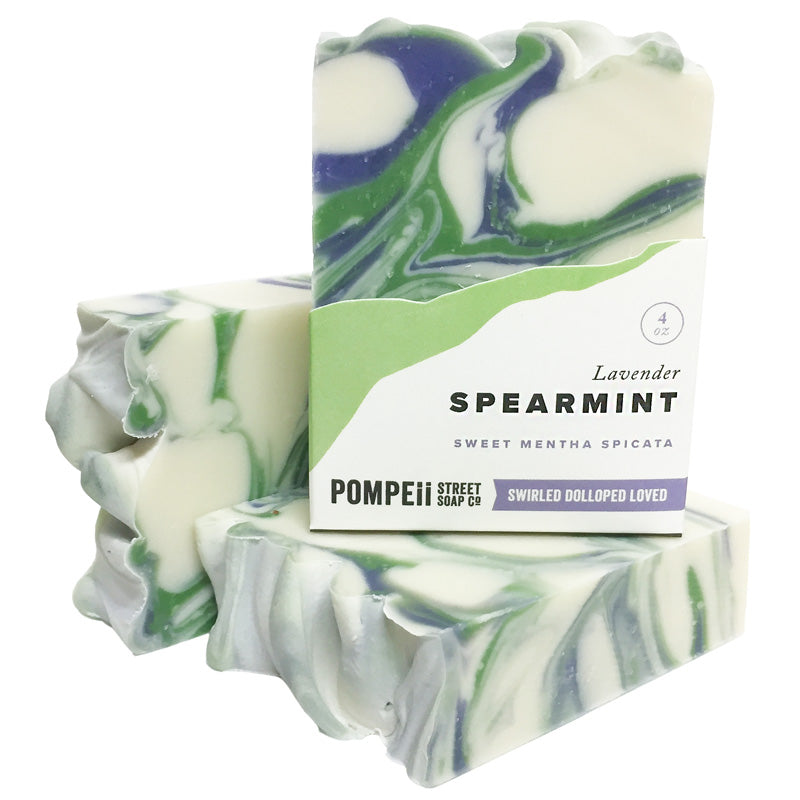 Lavender Spearmint Soap Bar