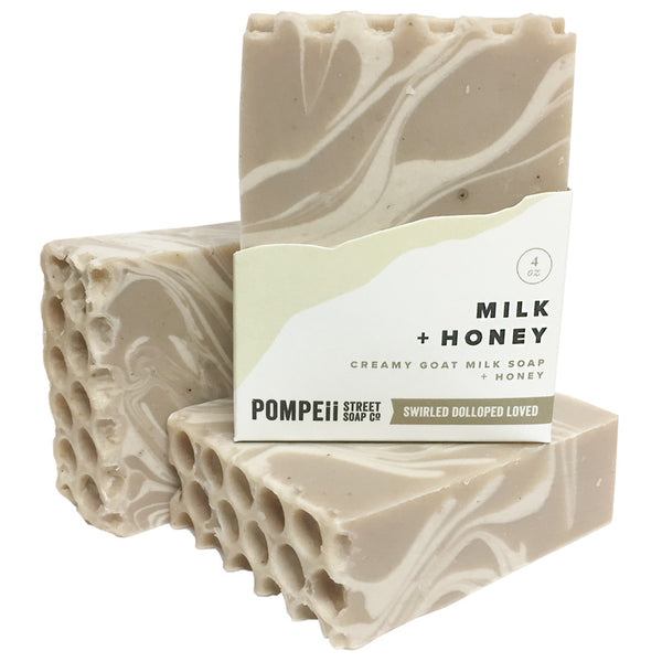 Milk & Honey Soap Bar