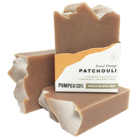 Sweet Orange Patchouli Soap Bar