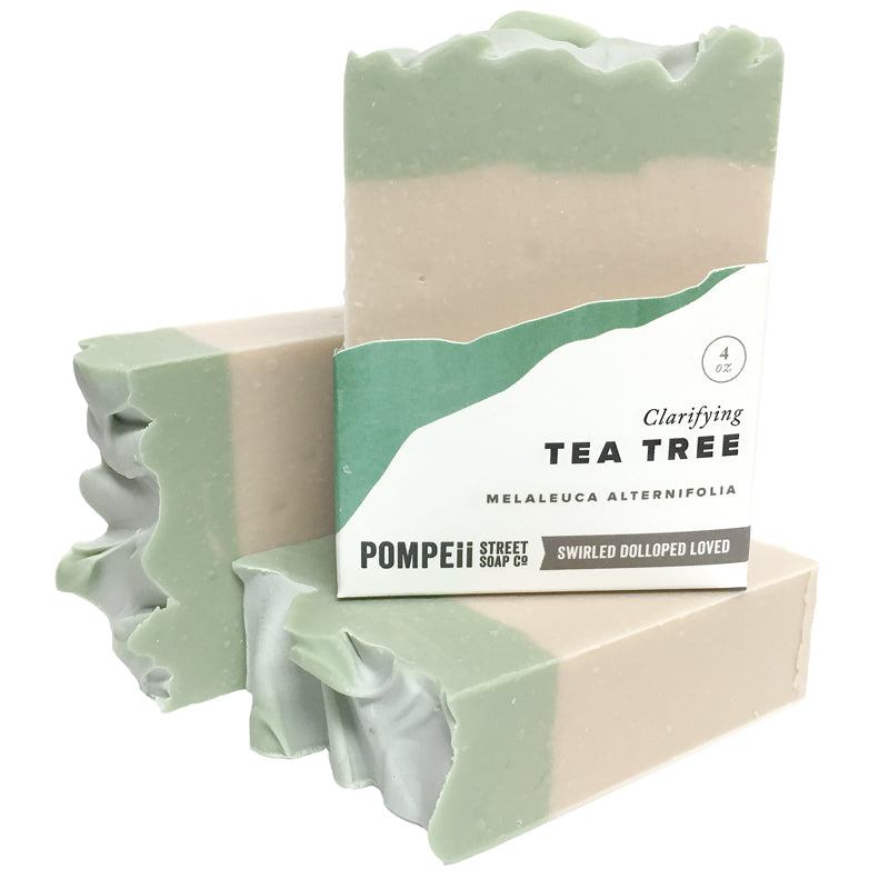 Tea Tree & Clay Soap Bar