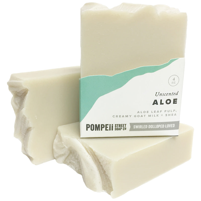 Unscented Aloe Soap Bar
