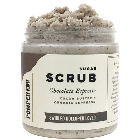 Chocolate Espresso Sugar Scrub