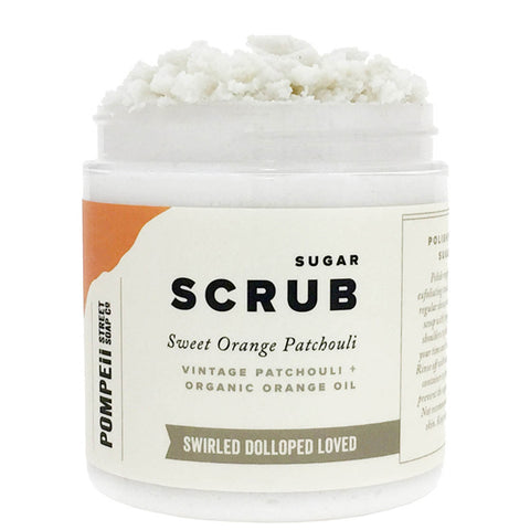 Sweet Orange Patchouli Sugar Scrub