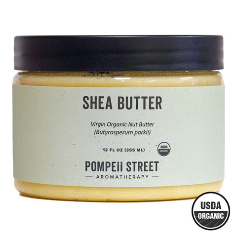Shea Butter, Virgin Organic (12 fl oz)