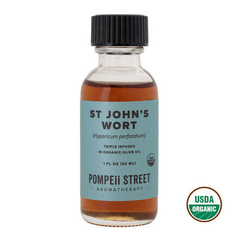 St. John's Wort Infused Olive Oil
